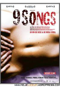 Nine songs - plakat