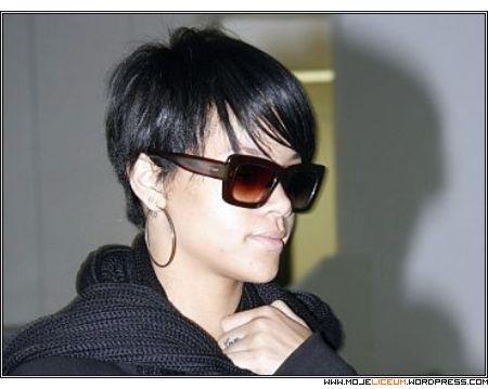Rihanna - nowa fryzura