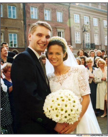 Kinga Rusin i Tomasz Lis - ślub