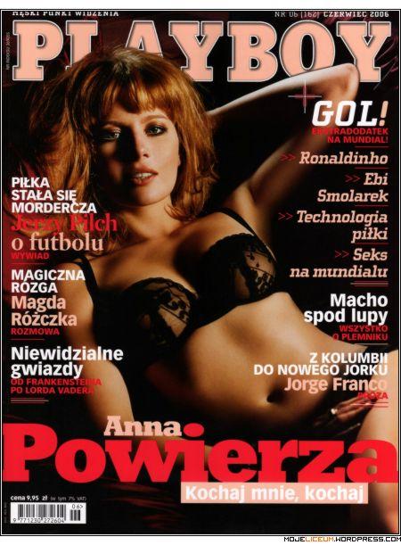 Anna Powierza nago - Playboy
