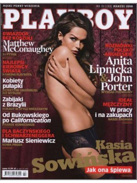 Kasia 3000 Sowińska nago w Playboyu