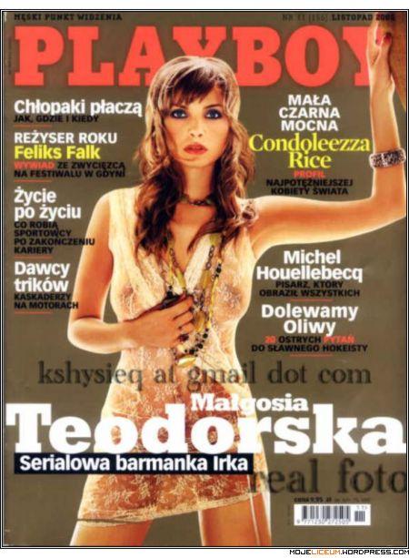 Małgorzata Teodorska nago (Playboy)