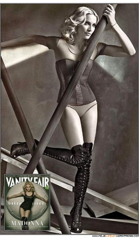 Madonna - Photoshop (Vanity Fair)