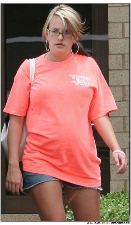 Jamie Lynn Spears - nago w ciąży